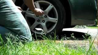 How to change struts on a Nissan Altima 3.5L 2005 How to change shocks Altima 2005 Fix