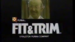 1977 Purina Fit and Trim Dog Food TV Commercial