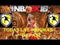 NBA 2K16 - COMO CONSEGUIR TODAS LAS INSIGNIAS - PASE