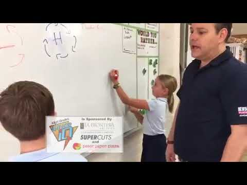 News 4 Tucson Weather IQ with Matt Brode at Immaculate Heart School