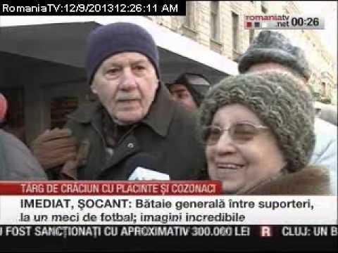 Bucharest Christmas Market, ediția 2013 - România TV 09.12.2013