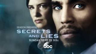 Тайны и ложь / Secrets and Lies 2 сезон Промо