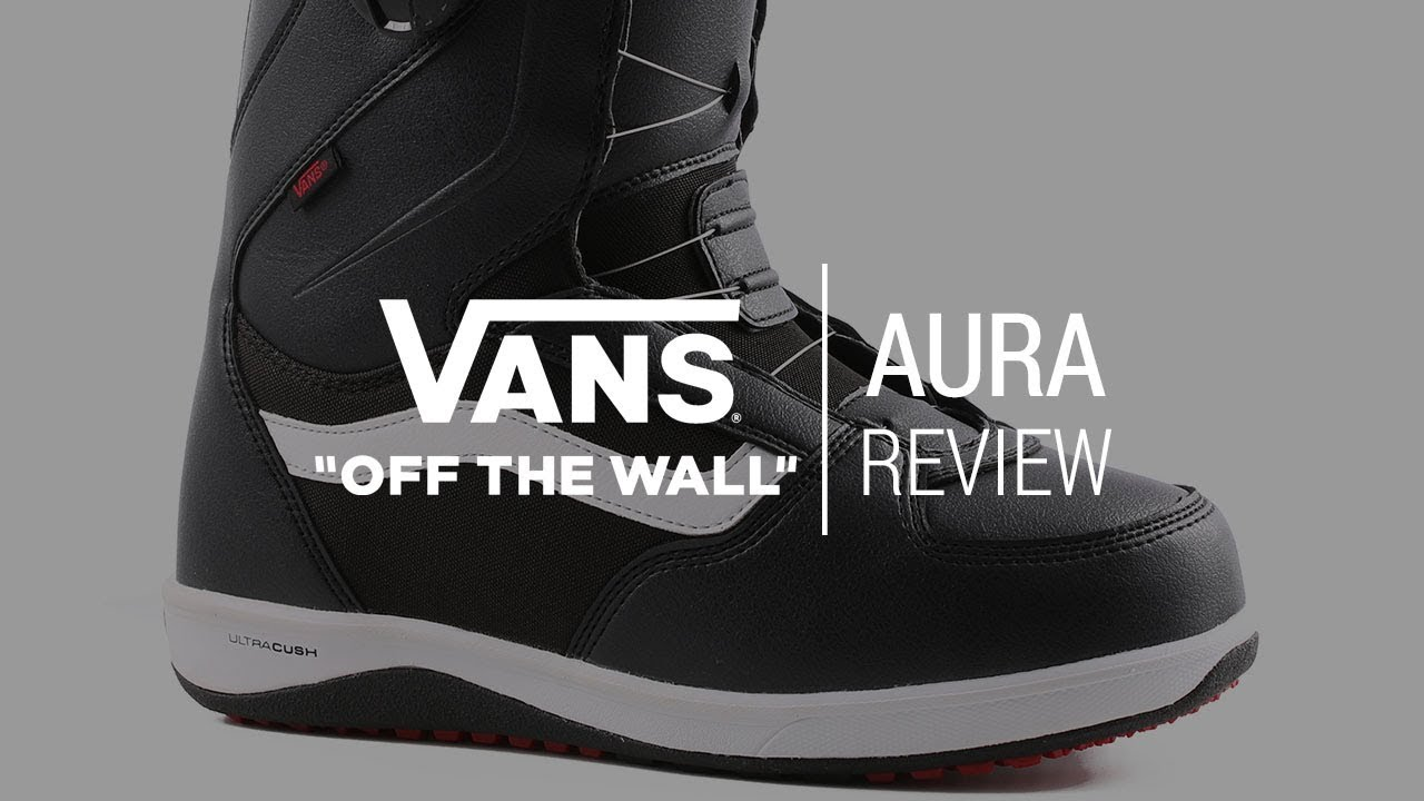 652b5c4203f61e Vans Aura 2018 Snowboard Boot Review - Tactics.com - YouTube