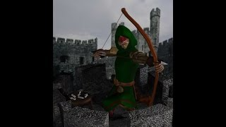 My Work - Advanced Modeling - Blind Archer