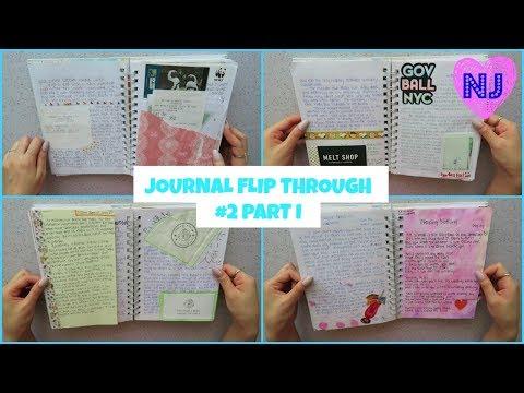 Journal Flip Through #2 Part I | Love Dream Trust Believe | Noa Jasmine