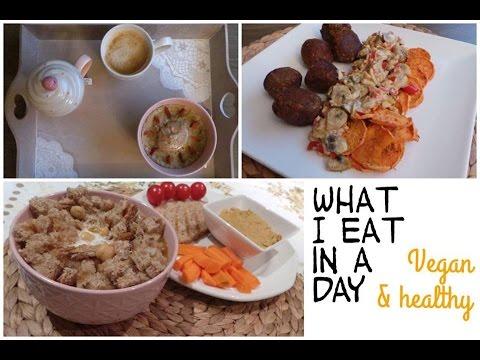 une-journee-dans-mon-assiette-#2-vegan-&-sain-♡-/-what-i-eat-in-a-healthy-day