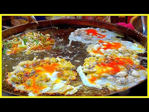 Thumbnail: THE MASSIVE OYSTER n/ MUSSEL OMELETTE EVER - STREET FOOD AROUND THE WORLD