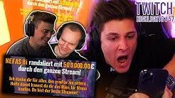 500.000€ Spende Macht Mich Zum TikTok Star! 🌚 | Twitch Highlights #57 | orangemorange
