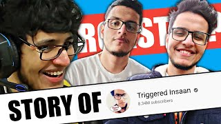Triggered Insaan Success Story In Hindi | YouTubers Biography | Rk Biography