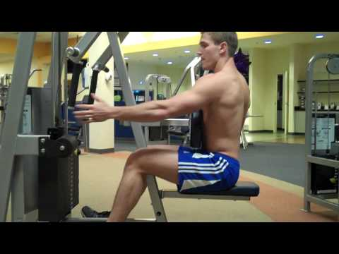 "How To: Row/Rear Delt (Cybex) ""Row"""