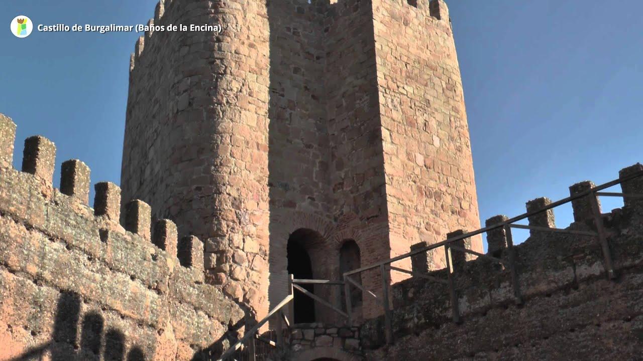 Castillo de burgalimar ba os de la encina youtube - Banos de la encina espana ...
