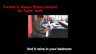02. Taylor Swift - Forever & Always (Will Ting Piano Cover)