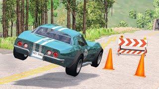 Road Trap Crashes #7 - BeamNG Drive | CrashBoomPunk