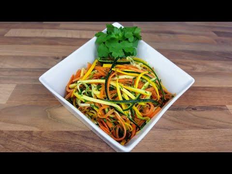 salade-de-courgettes-et-carotte-crues-(salade-rafraîchissante-avec-tous-ses-nutriments)