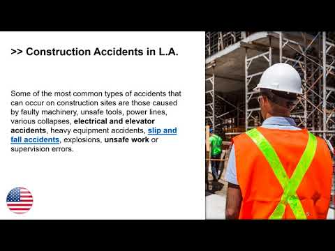 L A  personal injury attorneys for construction accidents