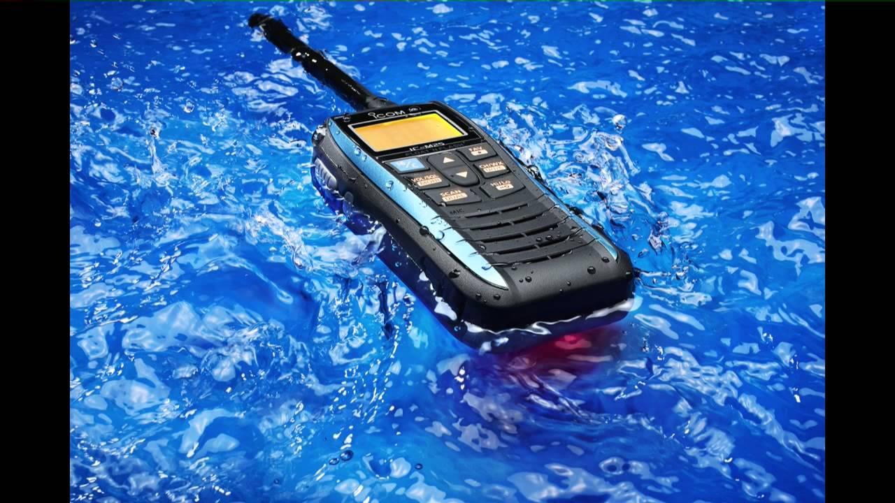 NEW ICOM M 73 IC-M73 Euro Hand Held Marine Boat VHF Radio UK Model WaterProof