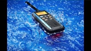 icom s new ic m25 buoyant marine vhf radio