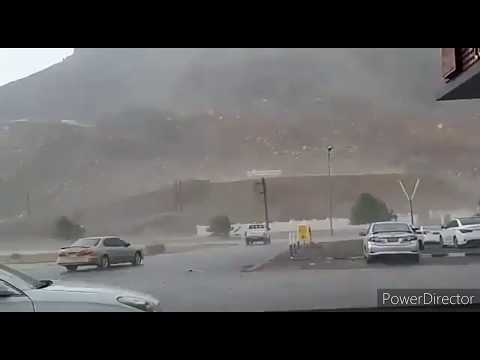 Heavy Rains And Flooding Around #salalah Oman  #may 29.2020 # When Nature Calls