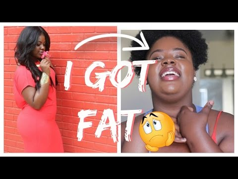 SO... I GOT FAT   WEIGHT LOSS JOURNEY (WITH PICS) #FATTOFIT