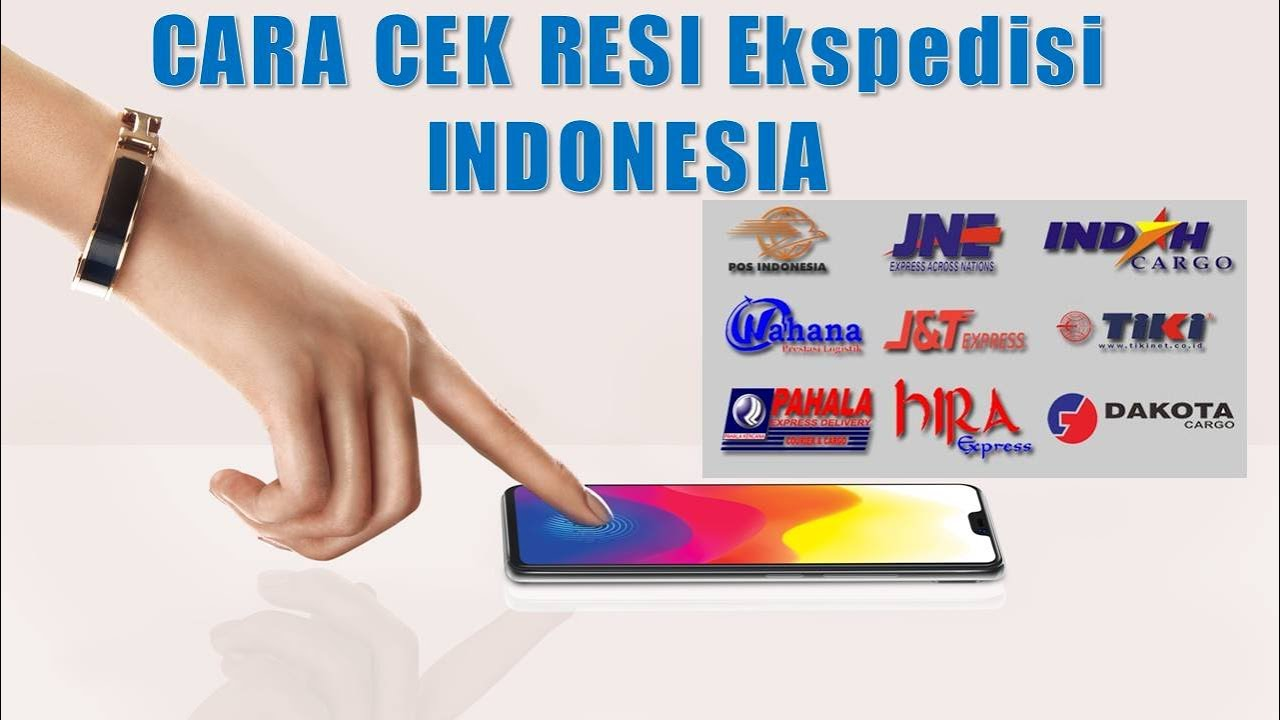 Cara Cek Resi Ekpedisi Di Indonesia (by grosir sandal ...
