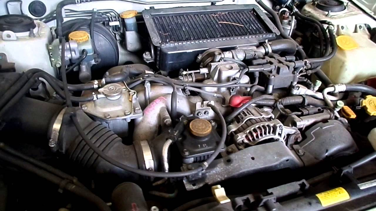 A0089 Subaru Forester Gt Engine 1998 Turbo Sf5
