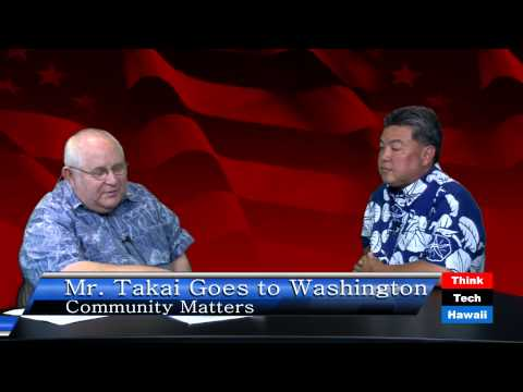 Mr. Takai Goes to Washington with Mark Takai