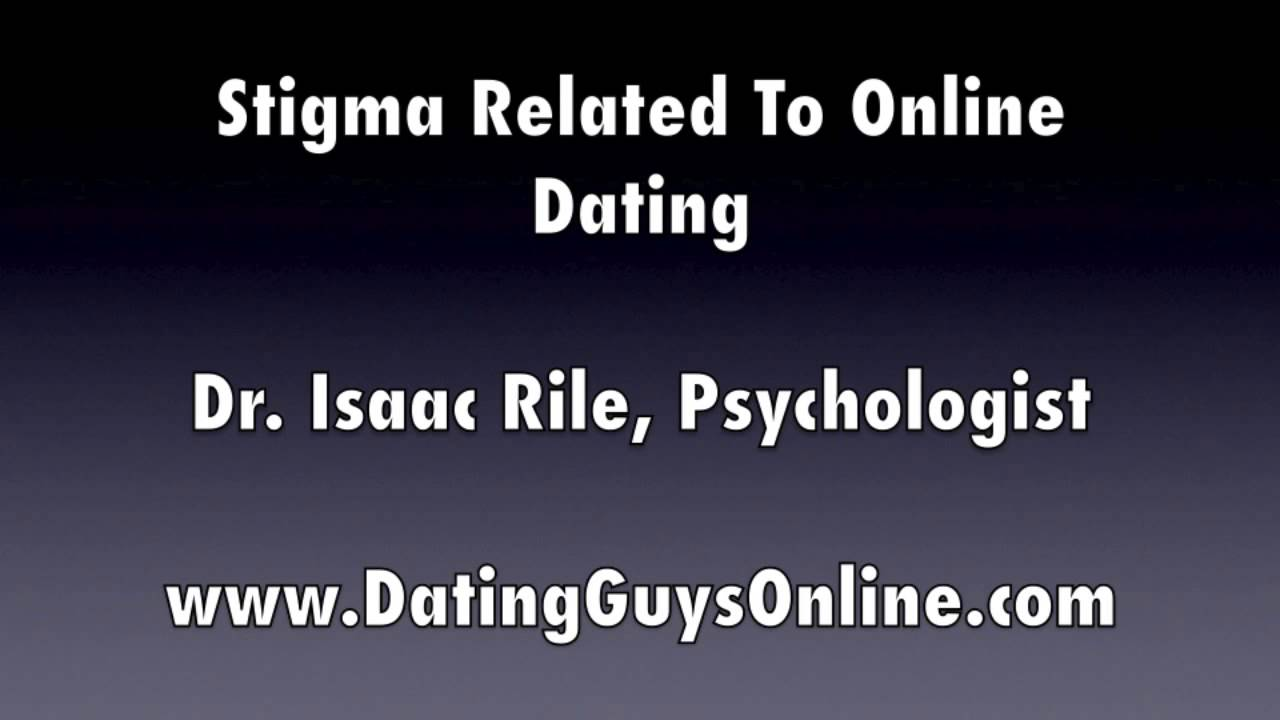 Stigma of online dating