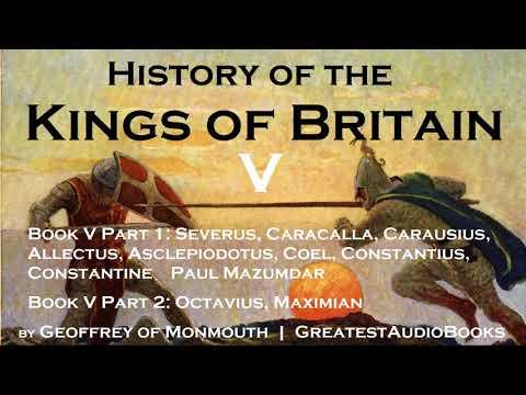 HISTORY OF THE KINGS OF BRITAIN Book V - FULL AudioBook   GreatestAudioBooks