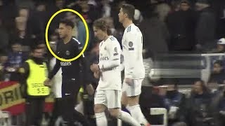 Look at what Ronaldo did to Neymar after the end of Match😱😱 ● ...