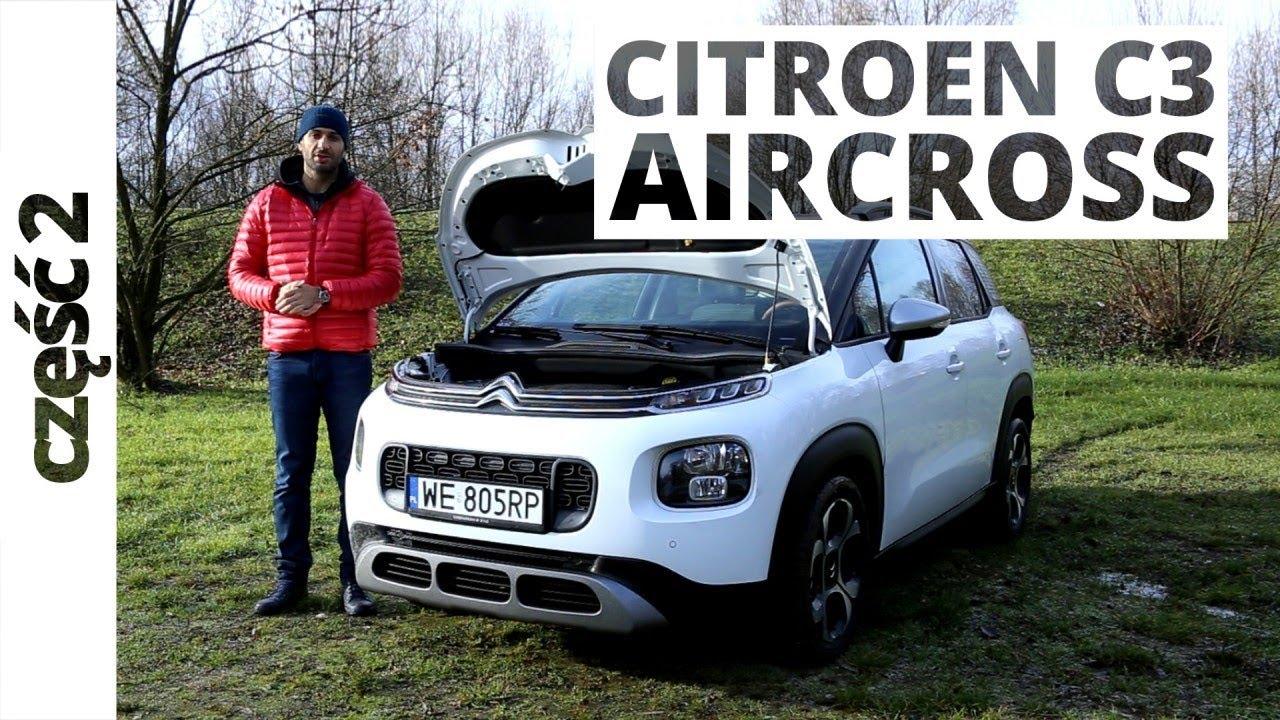 Citroen C3 Aircross 1.2 PureTech 130 KM, 2017 – techniczna część testu