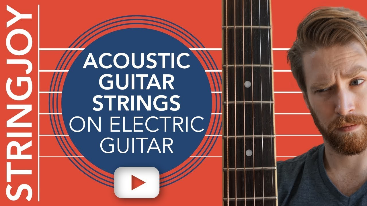 we put acoustic guitar strings on electric guitar so you don 39 t have to youtube. Black Bedroom Furniture Sets. Home Design Ideas