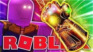 Roblox Infinity War - COMMENT À BEAT THANOS!? - Super Héros Roblox