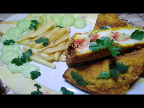 Bread Pakora Recipe By Hungry Helpers Kitchen