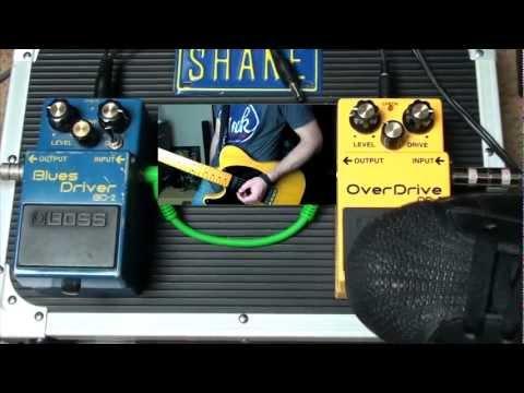 BOSS Blues Driver BD-2 vs BOSS Overdrive OD-3