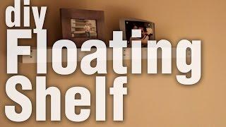DIY Floating Shelf from Pallet Wood