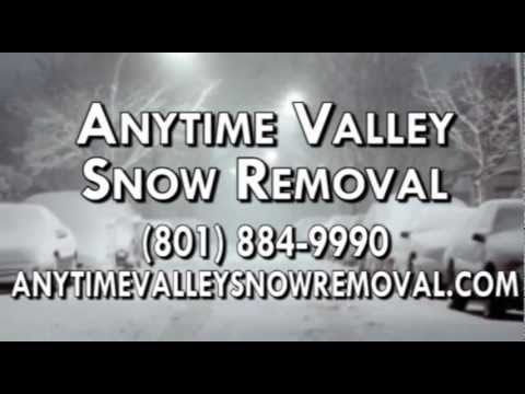 Snow Removal Service, Commercial Snow Removal in West Jordan UT 84084