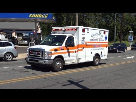 Advanced Nurse Transport Ambulance 209-3 Responding - YouTube