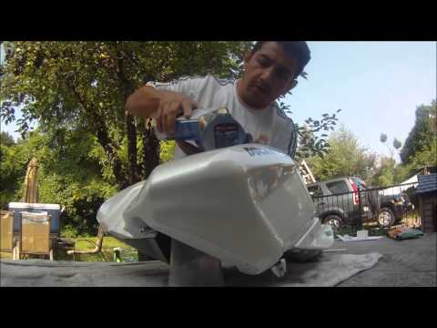 How to: Caswell prep plastic tank part 1