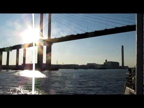 Sailing Past Coalhouse Point And Tilbury Docks