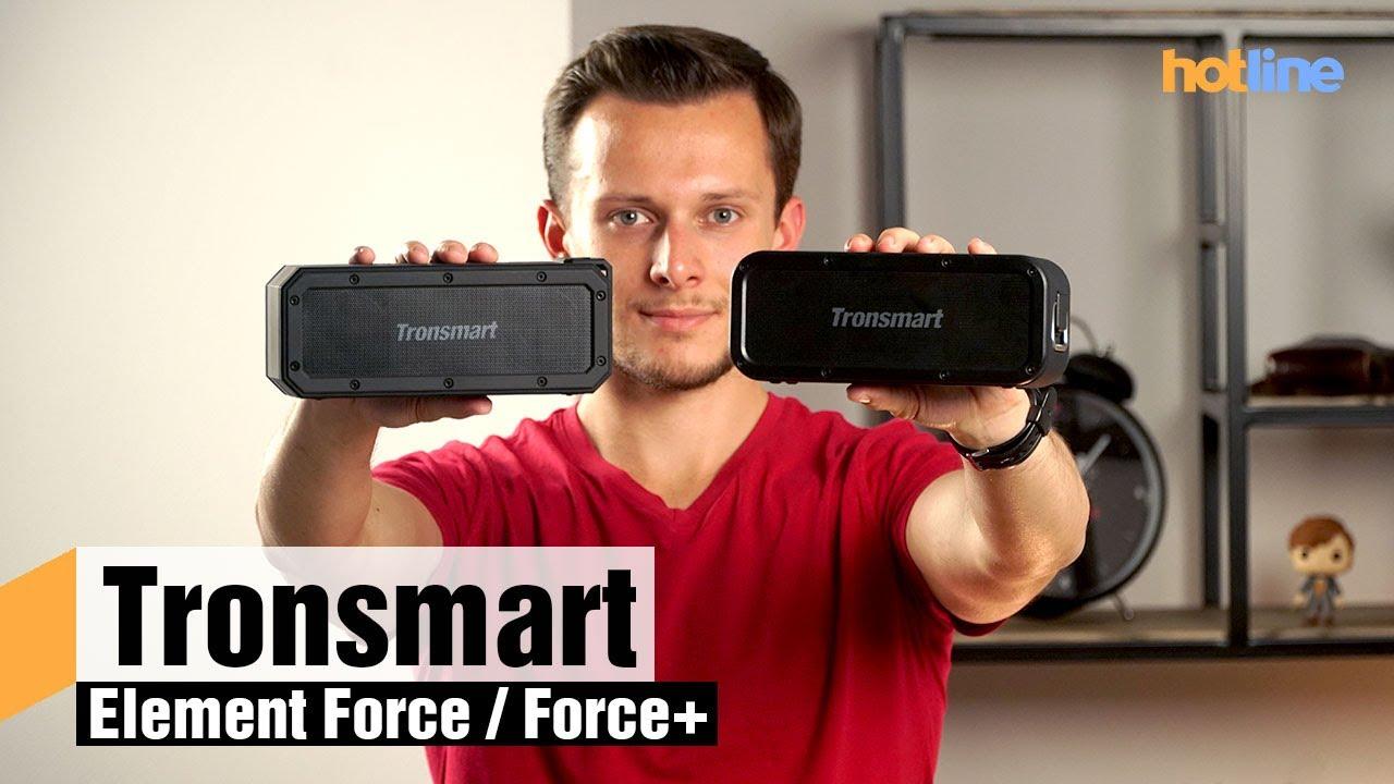 Tronsmart Element Force и Force+ — обзор беспроводных колонок