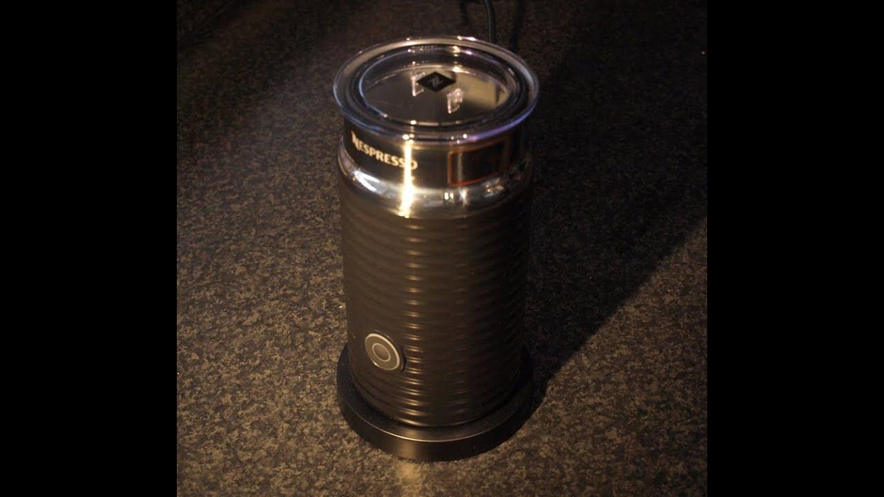 Nobbi testet: Nespresso Aeroccino3 Milchaufschäumer - YouTube