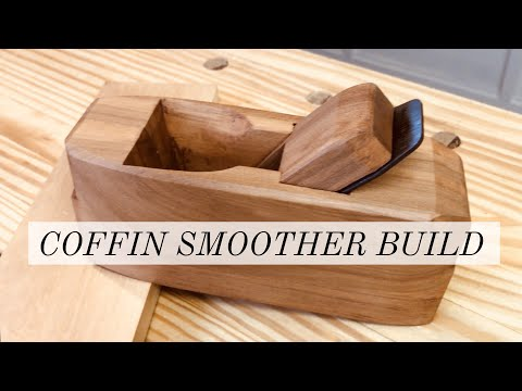 Making a Coffin Smoother Plane | Upcycling a generic hand plane