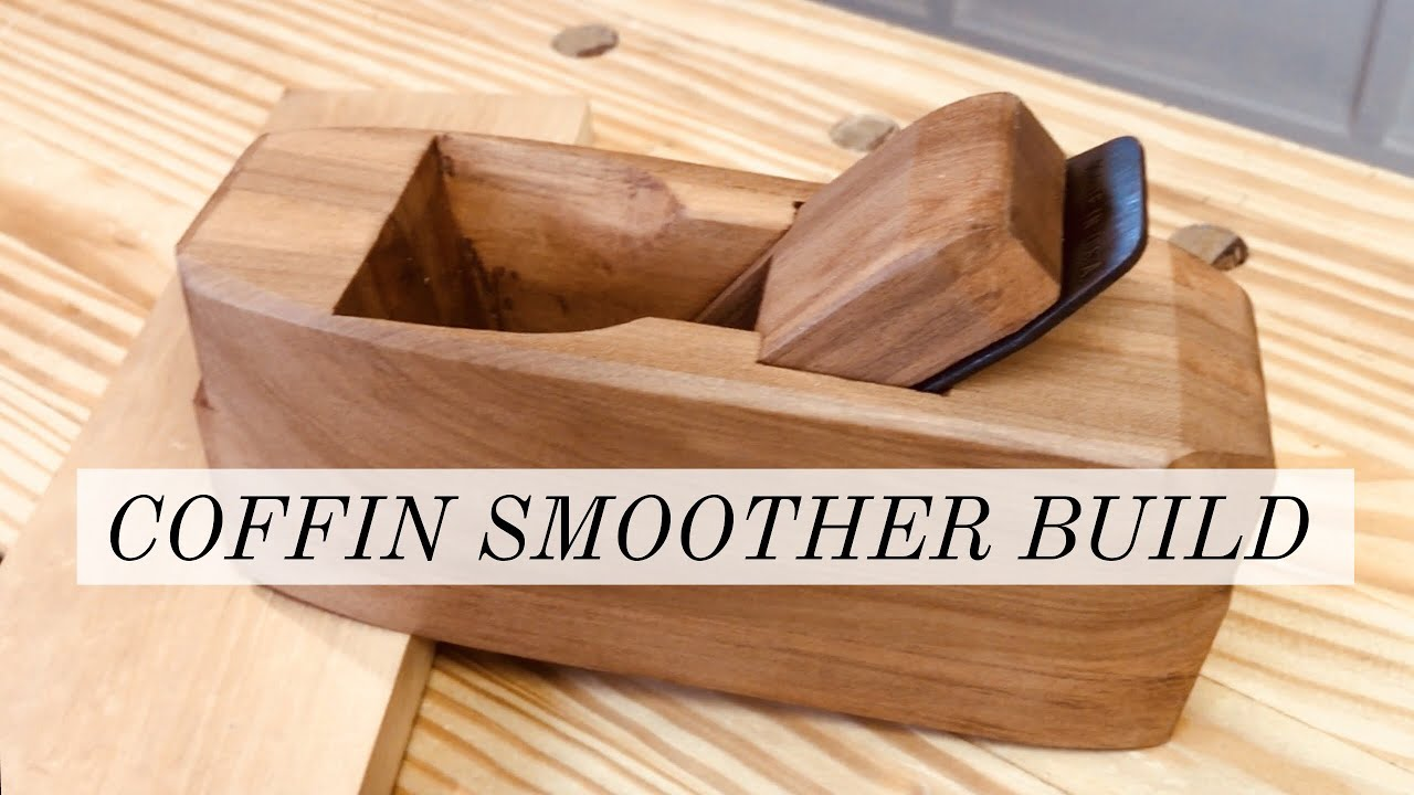 Making A Coffin Smoother Plane Upcycling A Generic Woodworking Hand Plane