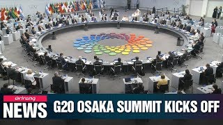 President Moon to talk global economy, denuclearization on first day of G20 Summit