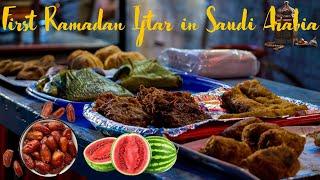 First Ramadan Iftar in Riyadh Saudi Arabia   Saudi Indian Vlog   Riyadh Indian Vlog   iMteyaz Vlogs