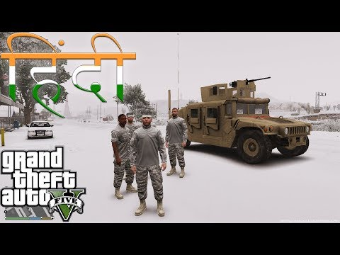 GTA 5 MILITARY PATROL HINDI #33