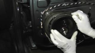Установка 16 см Динамиков в Лада Гранта через проставки