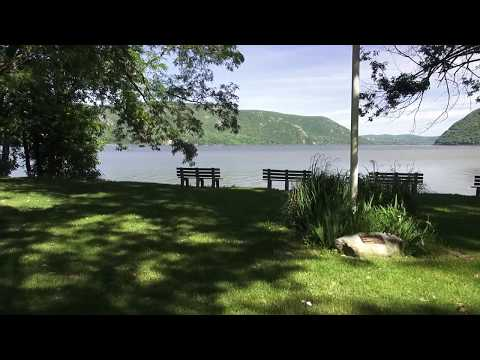 Plum Point park and views of the Hudson River and Hudson Valley