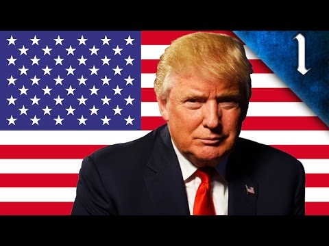 DONALD TRUMP WAR WITH MEXICO! HEARTS OF IRON 4: MODERN DAY: USA DONALD TRUMP EP. 1