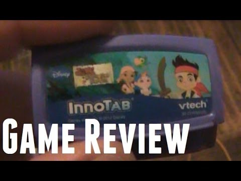 Jake and Neverland Pirates for InnoTab Game Review with Game Play